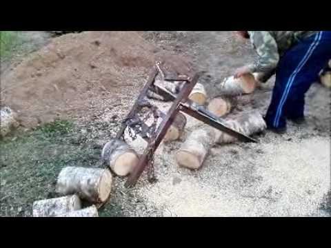 Подставка  (кОзлы) для распиловки дров.