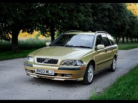 2003 VOLVO V40 ESTATE WAGON VIDEO REVIEW STARTING  YouTube