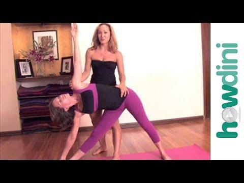 Ashtanga Yoga: Triangle Pose or Utthita Trikonasana