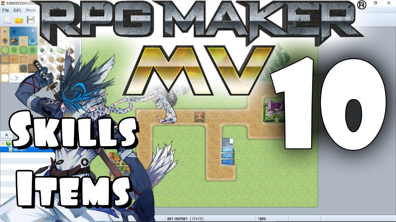 RPG Maker MV Tutorial #10 - Skills & Items!