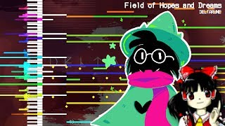 【MIDI DL】Field of Hopes and Dreams   DELTARUNE   Touhou Style Remix   MIDI Remaster