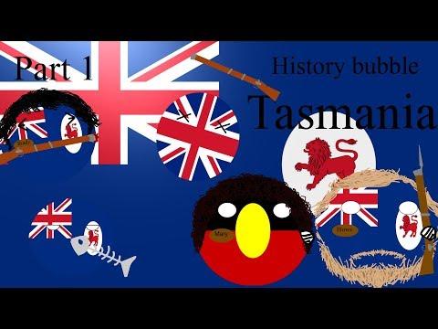 History bubble Tasmanian Bushrangers
