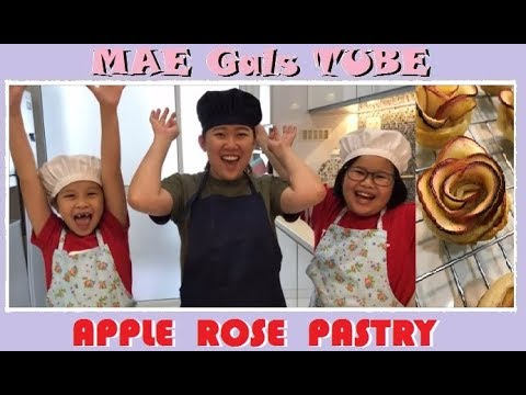 Apple Rose Pastry  MAE Gals TUBE