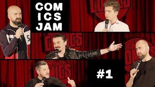 COMICS JAM #1 - Stand-up special (Cristi, Sergiu, Toma, Vio, Sorin)