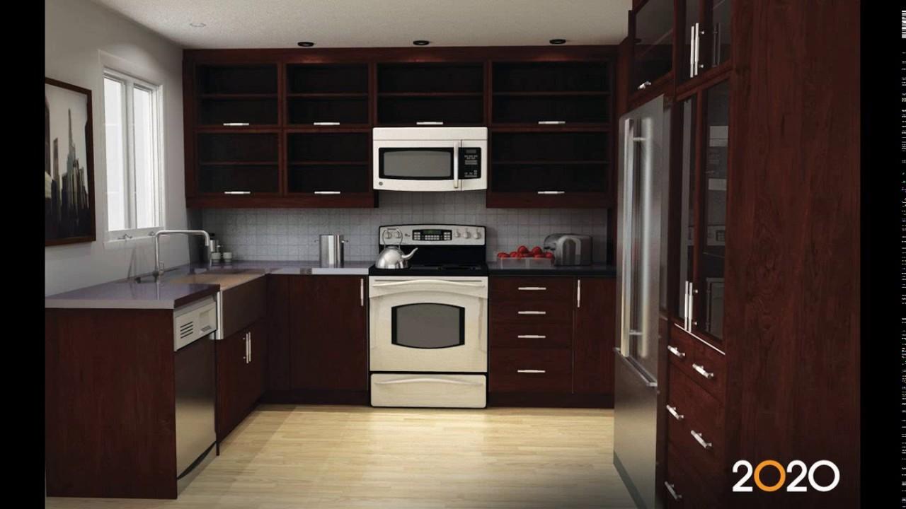 11 x 8 kitchen designs - YouTube