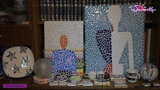 видео Предметы для мозаики