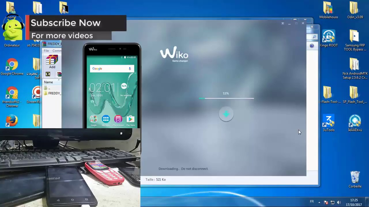TÉLÉCHARGER FIRMWARE WIKO OZZY