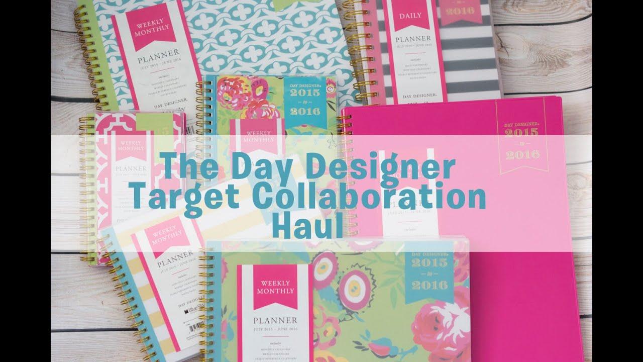 Zany image regarding day designer for target