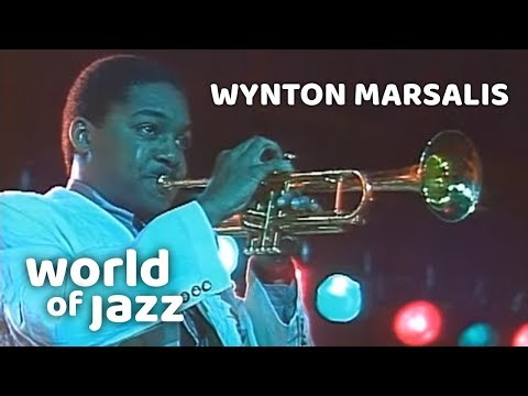 Wynton Marsalis and his band at the North Sea jazz Festival • 11-07-1987 • World of Jazz