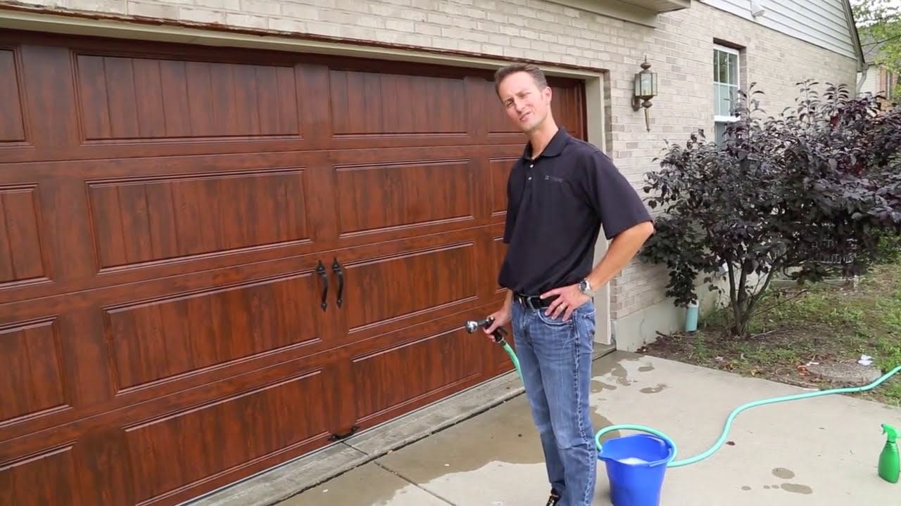 and review makeover com doors after before close with photos wall garage clopay extreme tinfishclematis door