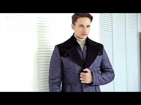 Теплая мужская куртка.