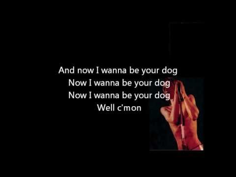 Iggy and The Stooges- I Wanna Be Your Dog- Lyrics