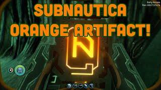 Subnautica Finding The Orange Tablet & The Door It Opens