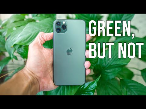IPhone 11 Midnight Green Color - 4 MINUTE REVIEW & Color Comparison!