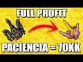 FULL PROFIT | ¿CÓMO SACAR 70KK+? - Tibia