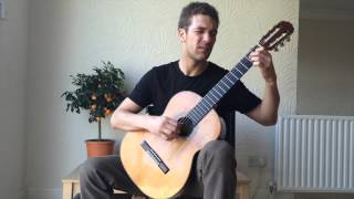 Swing Thing - Nick Powlesland - Classical Guitar - Blues