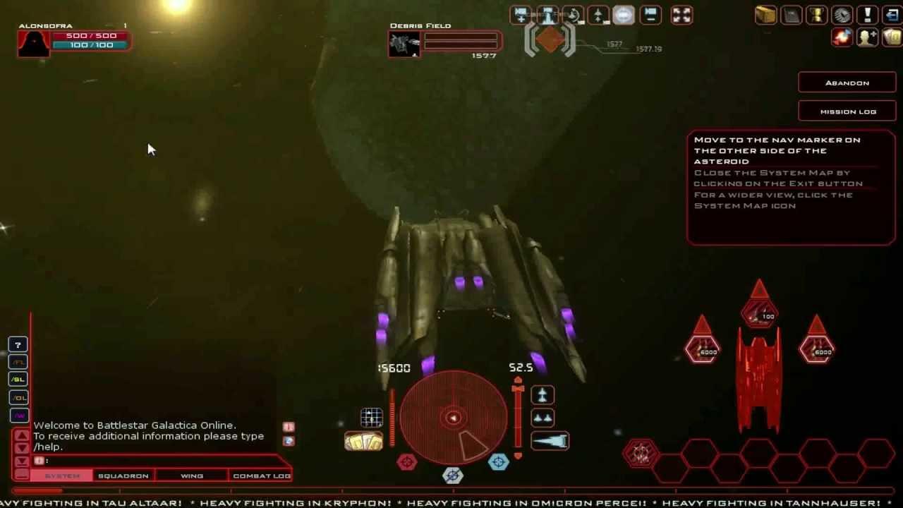 Battlestar Galactica Free Game