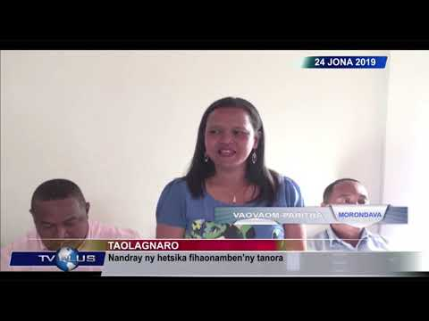 VAOVAOM PARITRA DU 24 JUIN 2019 BY TV PLUS MADAGASCAR