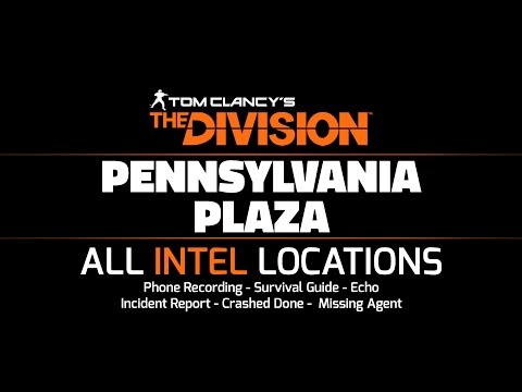 The Division - Pennsylvania Plaza - All Intel Locations: 13/13