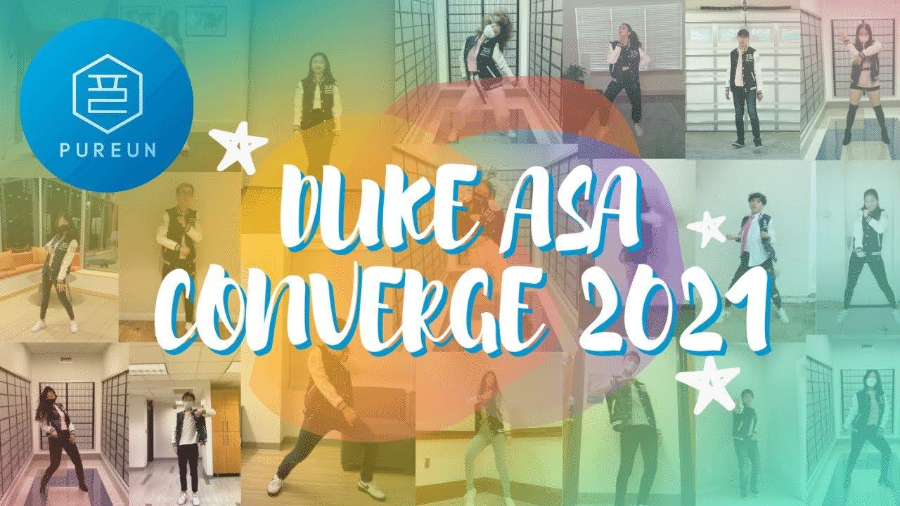 KPOP AT DUKE: CONVERGE 2021 (SHINEE, MISS A, BOA, EXO, BTS, BLACKPINK) Dance cover   DUKE PUREUN