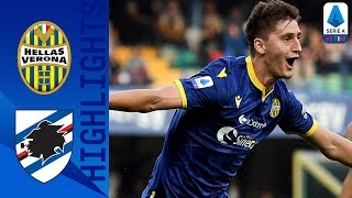 Hellas Verona 2-0 Sampdoria | Verona fly high, 9 points from 7 games! | Serie A