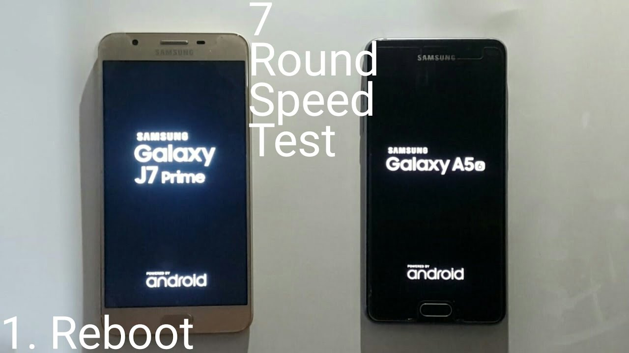 Samsung Galaxy J7 Prime Vs A5 2016 Speed Test