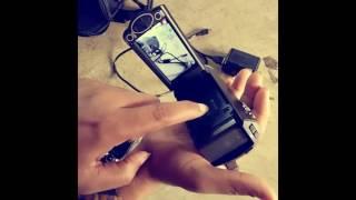 Demo Panasonic HC-V160 Camcorder /Video Hd Camera