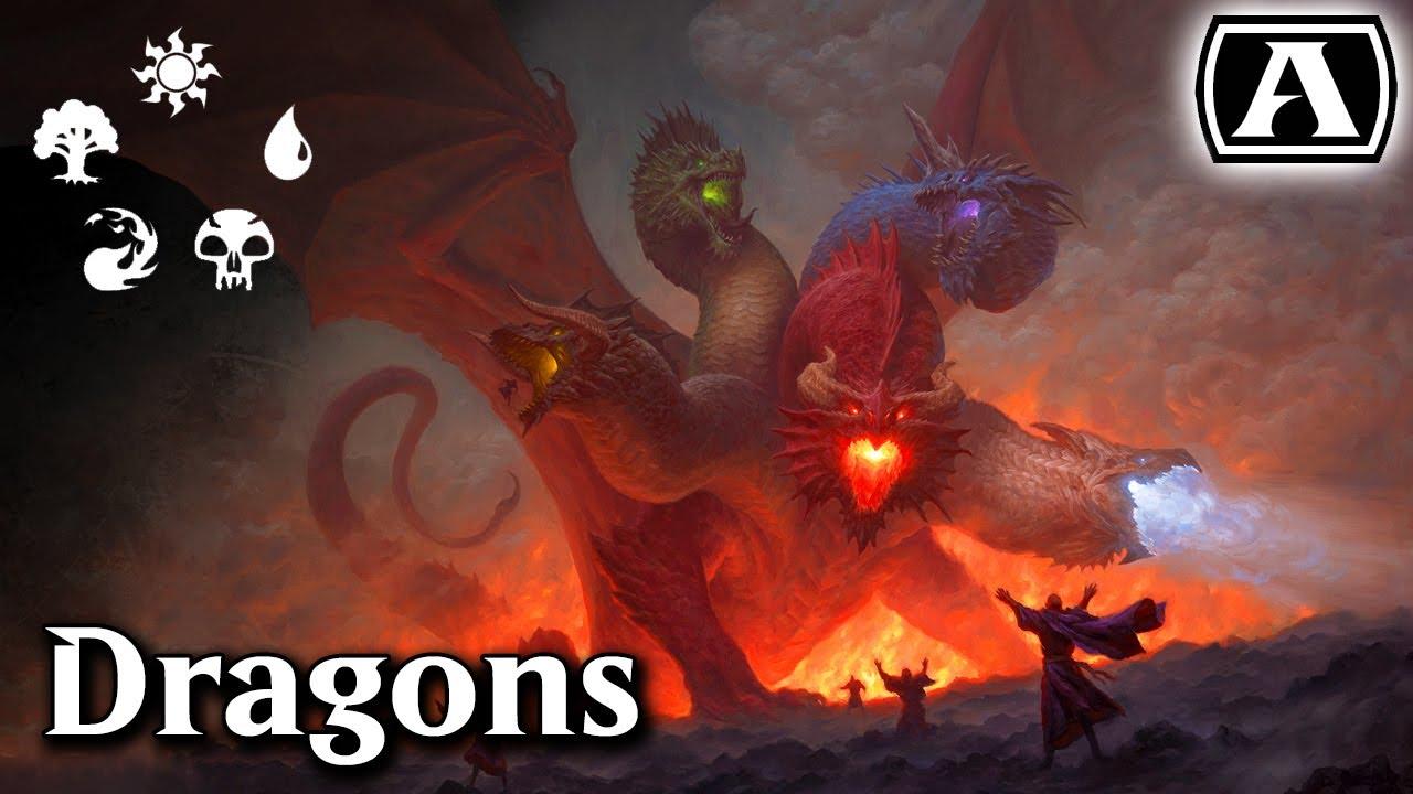 MTG Arena - Standard - Rainbow Dragons