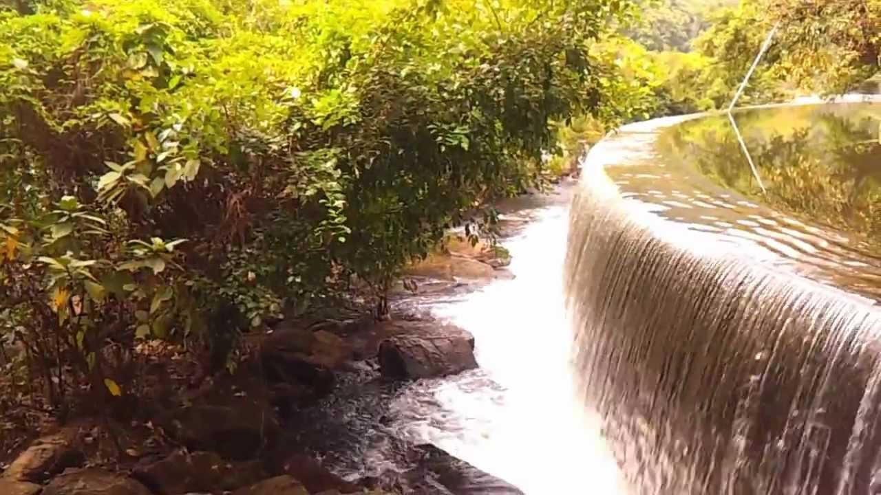 How To Make A Waterfall Dam Structure Build In Yard Or