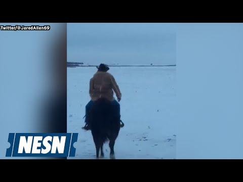 Jared Allen (Literally) Rides Off Into Sunset, Retires