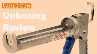 Amazon Heavy Duty ► Caulk Gun Review ◄ Caulking Gun with Comfort Grip Unboxing