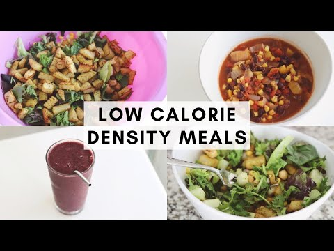 What I Ate Today ♥ Low Calorie Density Meals for Healthy Weight Loss