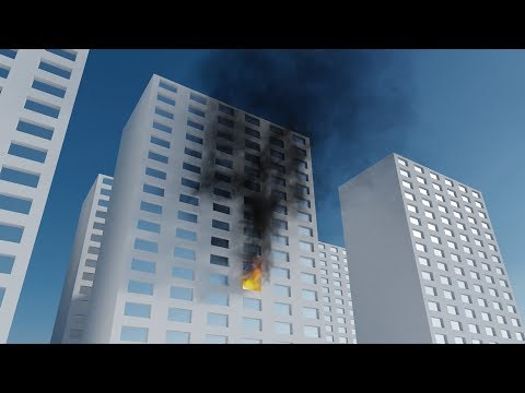 Test | Smoke + Fire simulation 001