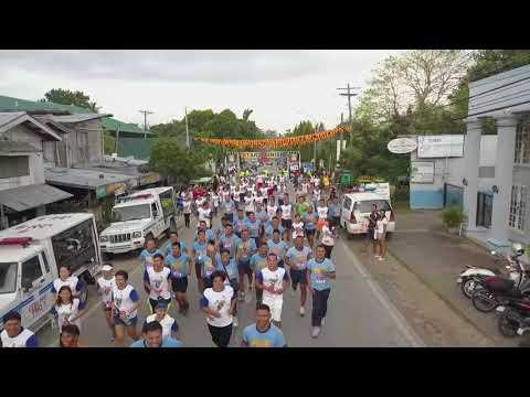 First Takbo Kontra Droga in Bogo City, Cebu