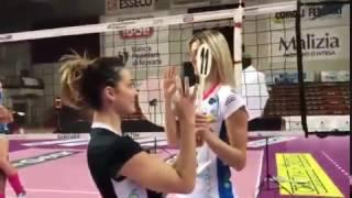 Il mannequin challenge della igor volley novara