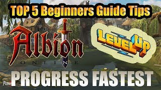 Albion Online - Top 5 Beginners Guide Tips in 2019 - How to Progress Faster in Albion Online 2019!