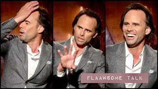 Walton Goggins On Telling His Son (7) How Mean He Is In Movies