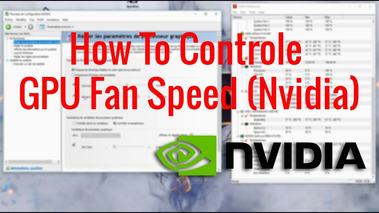 How To Controle GPU Fan Speed (Nvidia)