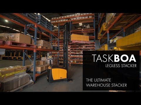 TASK Boa | Legless Stacker - The Ultimate Warehouse Stacker (Australia)