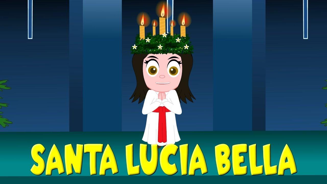 Santa Lucia Canzoni Per Bambini Youtube