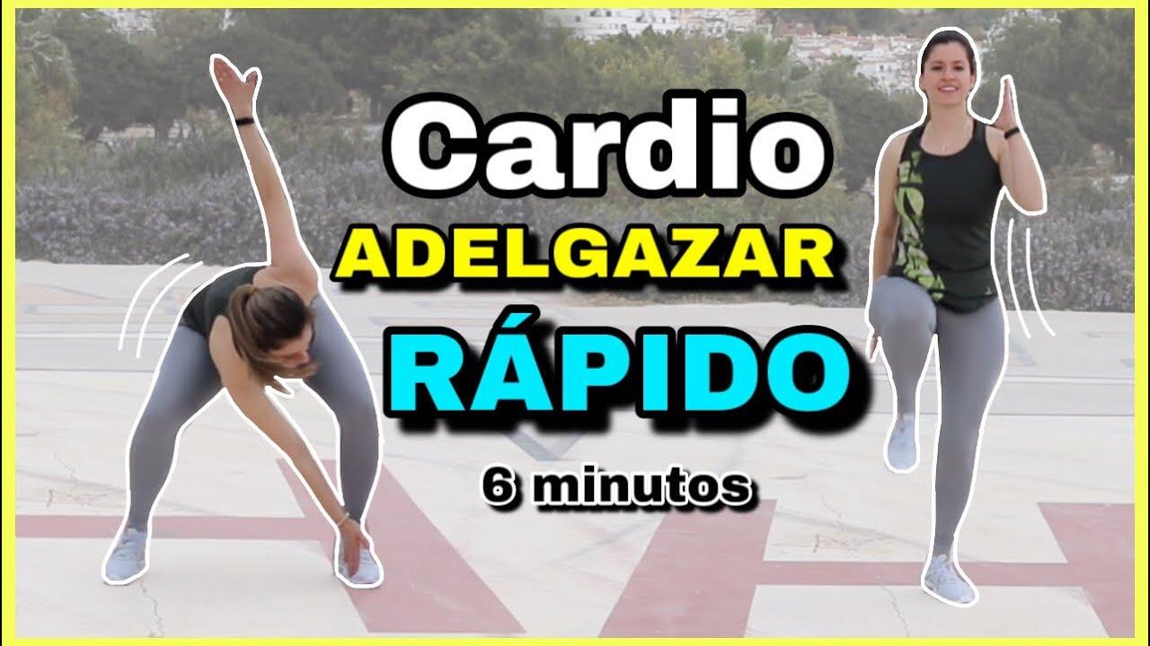 Rutina de ejercicios para adelgazar rapido