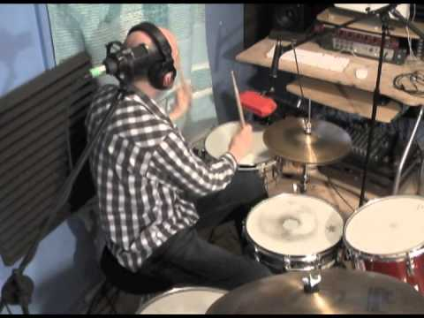 Funky Latin Drum Groove w/music (Timba)