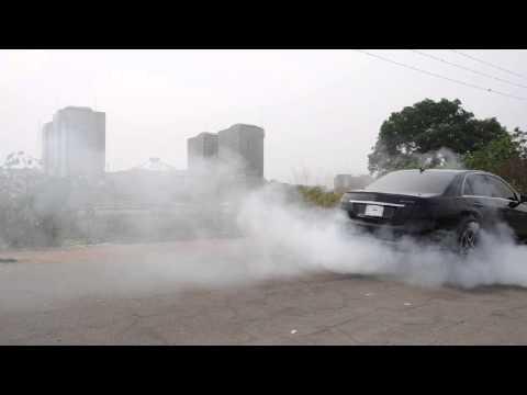 20 billion dollar NNPC tower Mercedes Benz Burnout Abuja