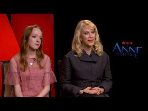 Netflix Anne with an E Amy Beth McNulty & Moira Walley Beckett Interview
