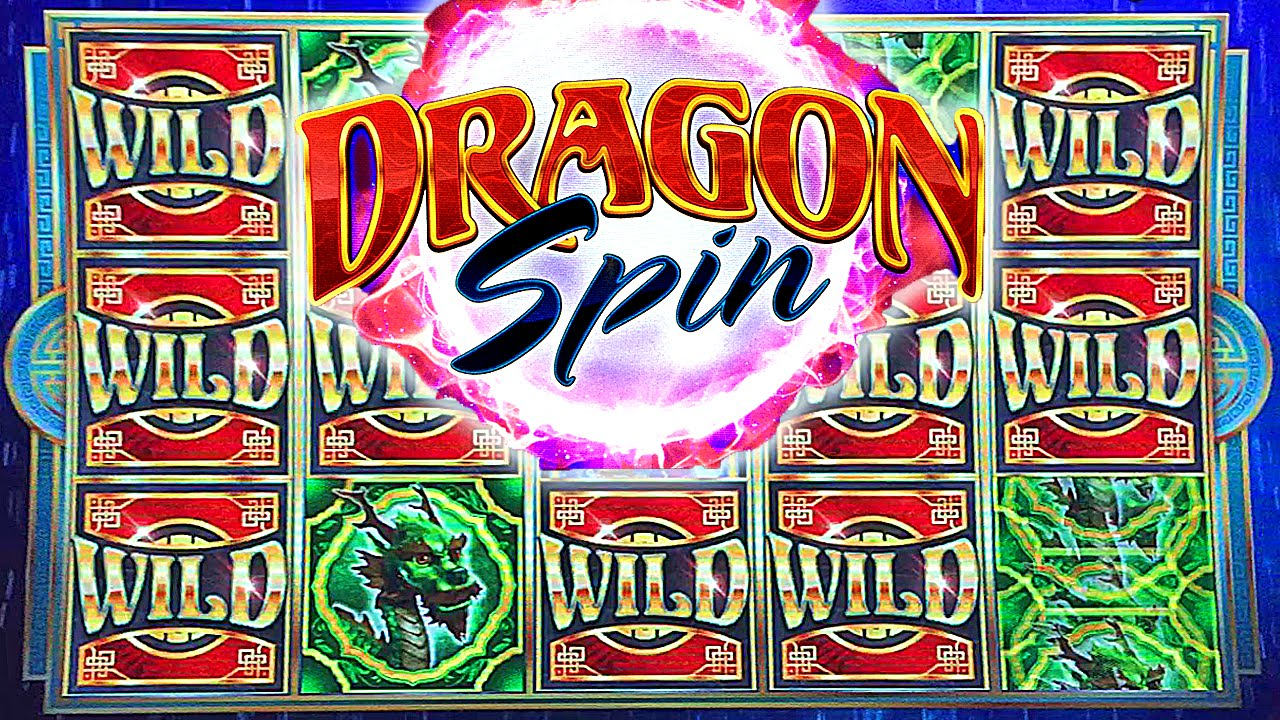 Dragon spin slot machine progressive