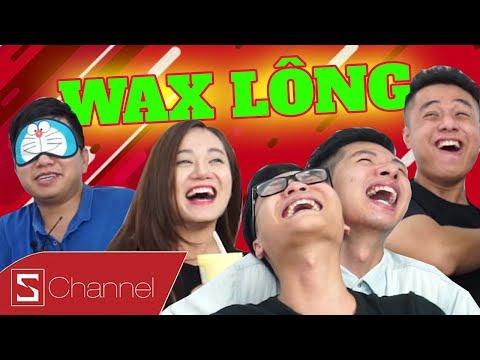 Schannel REACTION - WAX LÔNG CỰC THỐN : Tẩy lông một lần nhớ cả đời (Có sếp HuyNL)