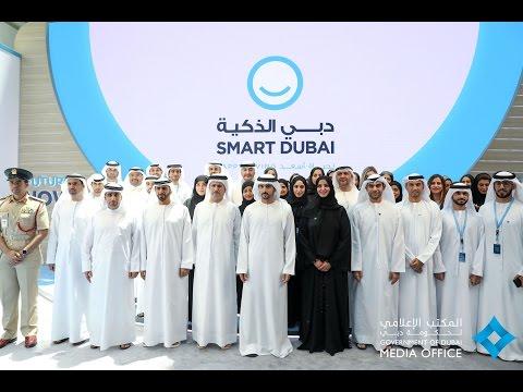 """حمدان بن محمد يطلق خطة """"دبي الذكية 2021"""" ومنصة """"دبي بالْس"""""""