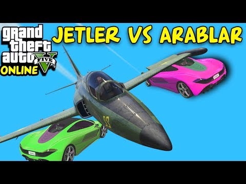 JETLER VS ARABALAR | EKİPLE GTA 5 ONLINE