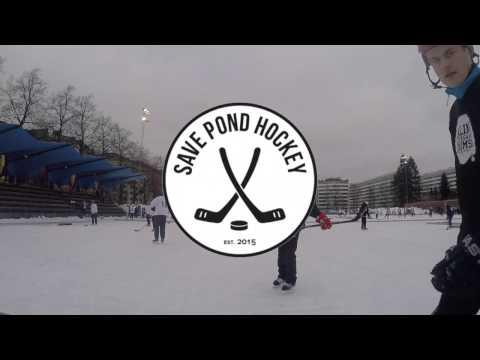Team LaLiNi Pond Hockey Tournament Helsinki