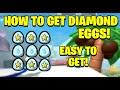 How to get Diamond Eggs *Free* - Bee Swarm Simulator